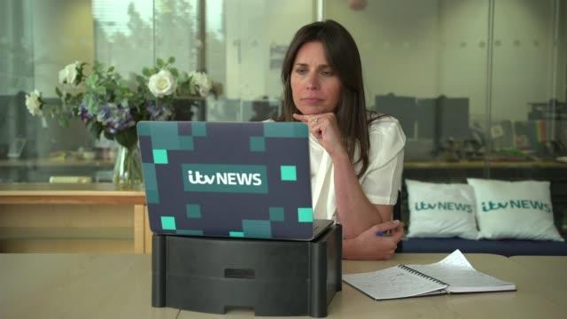 nurses survives after seven weeks on ventilator; england: int felix khor interview via web with reporter sot - atemhilfe stock-videos und b-roll-filmmaterial