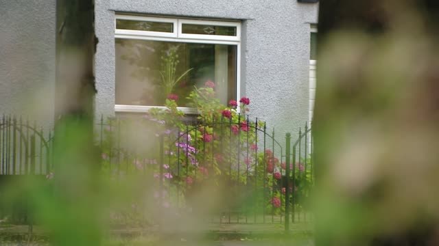 nicola sturgeon announces new local lockdown restrictions in scotland after sharp rise in virus cases; scotland: glasgow: ext various shots of... - suburban stock videos & royalty-free footage