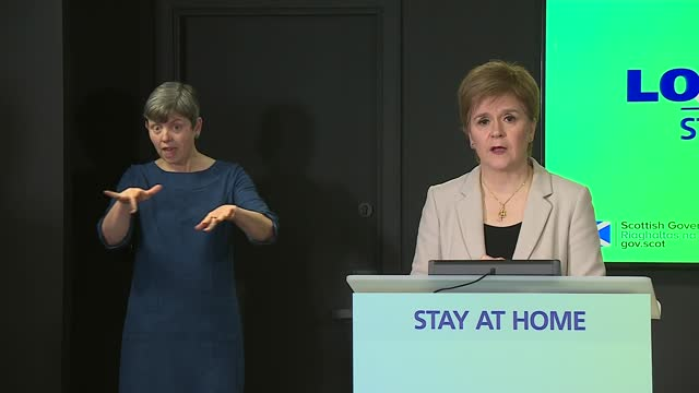 nicola sturgeon press conference 14th january 2021; scotland: edinburgh: st andrew's house: int nicola sturgeon msp statement sot part 1 of 3. -... - mountain range stock videos & royalty-free footage