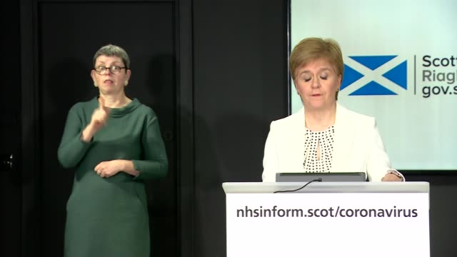 nicola sturgeon press conference april 10th; scotland: edinburgh: int press conference part 1 of 3 nicola sturgeon msp , iain livingstone and... - human heart stock videos & royalty-free footage