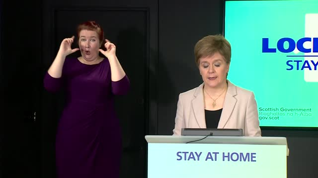 nicola sturgeon press conference january 8th; scotland: edinburgh: int nicola sturgeon msp statement sot - the tests will require to be highly... - addition key stock videos & royalty-free footage