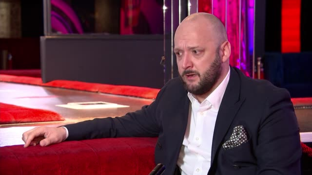 nightclub industry call for financial help england london cirque le soir int john common interview sot gautaye moon with reporter hands of moon... - itv london tonight stock videos & royalty-free footage