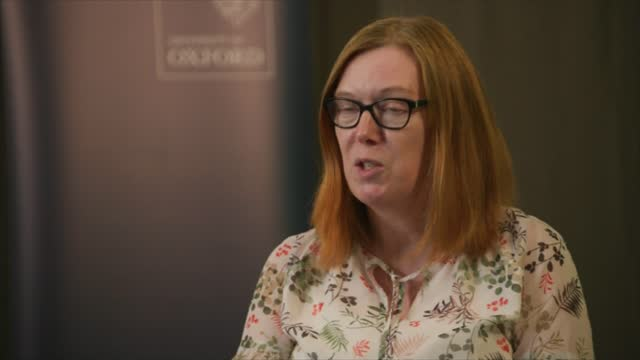 oxford vaccine shown to be highly effective england oxford int professor sarah gilbert interview sot - itv lunchtime news stock videos & royalty-free footage