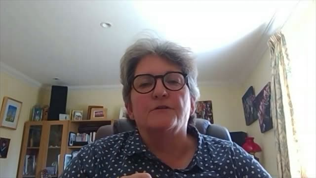 parents return to home schooling as summer term begins; england: london: int sonia blandford interview via internet sot kiesha mcinnis teaching... - cerebrum video stock e b–roll