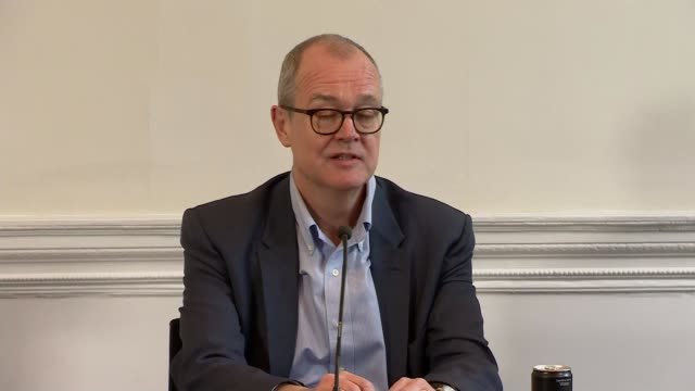 patrick vallance and chris whitty press conference; england: london: westminster: marylebone: academy of medical sciences: int sir patrick vallance... - solutions stock videos & royalty-free footage
