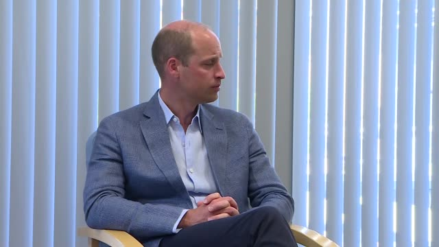 prince william visits university of oxford's vaccine group england oxfordshire oxford churchill hospital int various of prince william duke of... - oxfordshire stock videos & royalty-free footage