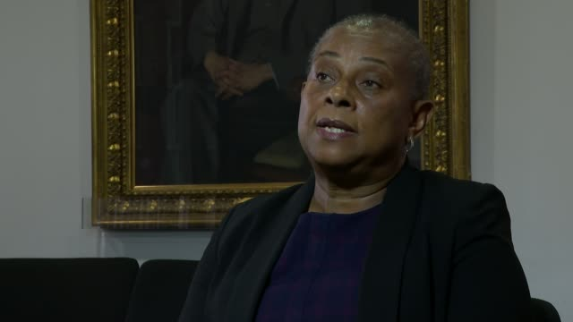 report by doreen lawrence indicates decades of structural discrimination contributed to impact of pandemic on bame communities; england: london:... - itv london lunchtime news stock videos & royalty-free footage