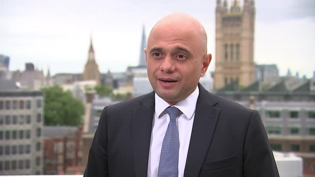 sajid javid interview; england: london: ext sajid javid mp interview sot. - why adopting jcvi advice now? vaccine wall of defence has been a huge... - guidance stock videos & royalty-free footage