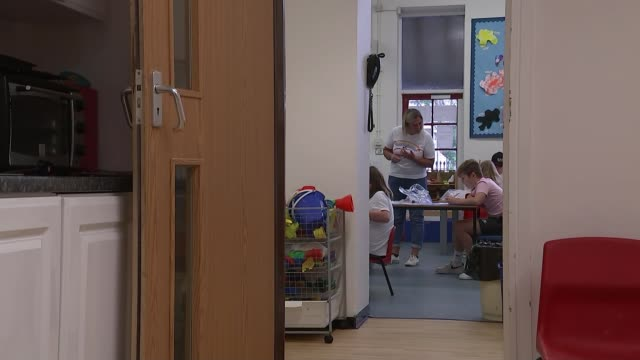 schools reopen in wales for all age groups; uk, wales, newport, waunfawr primary school; various shots of pupils returning to school, social... - parent stock videos & royalty-free footage