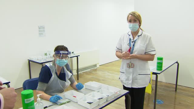 schools trialling lateral flow tests; uk, england, london, eltham college; various shots of lateral flow swab tests being undertaken by pupils and... - typing stock videos & royalty-free footage