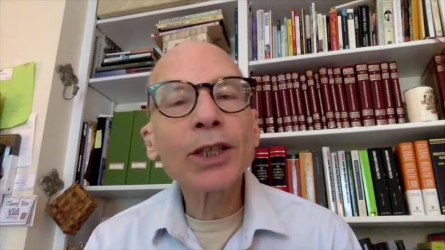 scientists write open letter to who on airborne transmission; usa: washington: int professor lawrence gostin interview via internet sot - biological process stock videos & royalty-free footage