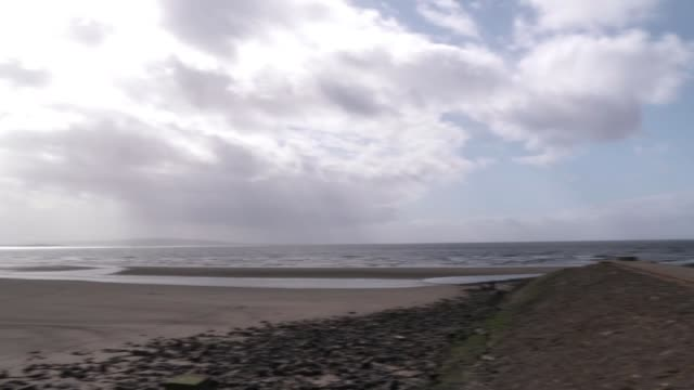 scotland's decision to drop contact tracing strategy examined scotland ext tracking shot of coastline - tracing stock videos & royalty-free footage
