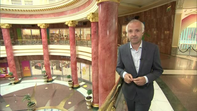 shops hoping for 'bounce back' as they prepare to reopen following lockdown; england: manchester: fred aldous stationers: int paul walker interview... - neo classical stock videos & royalty-free footage
