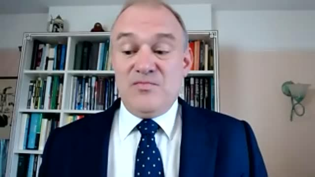sir ed davey interview; england: dorset : int sir ed davey mp interview sot. q: on government takeaway/deliveries announcement - essentially our... - new mexico stock videos & royalty-free footage