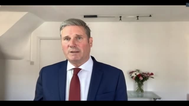 sir keir starmer interview; england: london: int sir keir starmer interview via internet sot. -jobs figures really worried. government needs more... - motivation stock videos & royalty-free footage