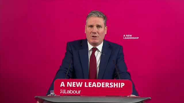 sir keir starmer speech and press conference; england: london: int sir keir starmer mp speech sot . - the first baby born in the nhs – aneira thomas... - social history stock videos & royalty-free footage