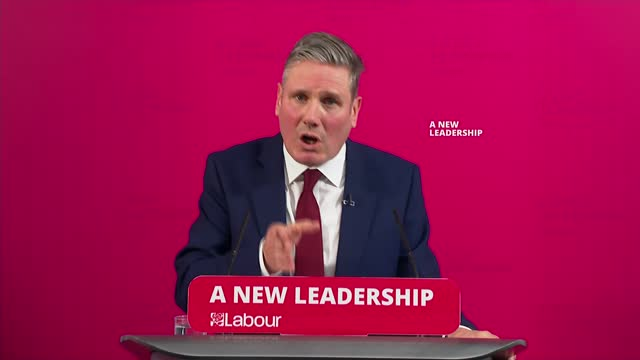 sir keir starmer speech and press conference; england: london: int sir keir starmer mp speech sot . - unless we grasp the nettle and deliver real... - nettle stock videos & royalty-free footage