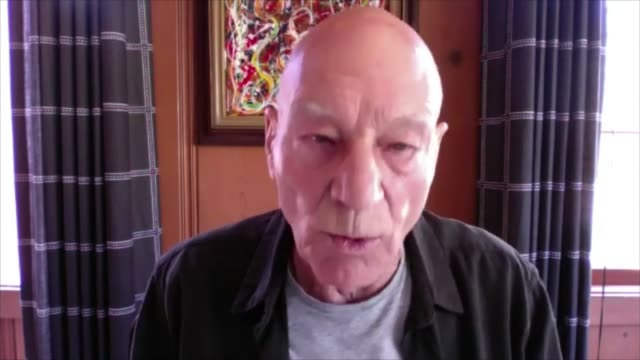 sir patrick stewart lends support to royal shakespeare company as he works to survive the covid19 pandemic england warwickshire stratforduponavon... - itv news at ten stock videos & royalty-free footage