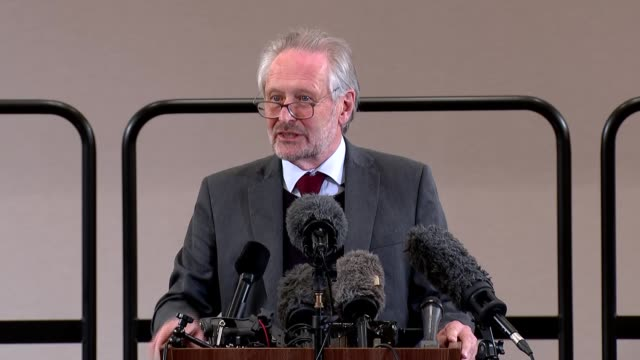 sir peter soulsby and ivan browne press conference; england: east midlands: leicester: int sir peter soulsby press conference sot. - welcome to... - mountain stock videos & royalty-free footage