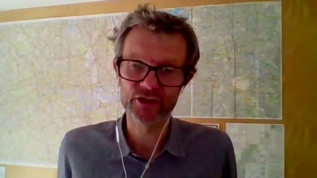 study says test and trace not enough to stop winter second wave of pandemic england int professor chris bonell setup and interview via internet sot - winter点の映像素材/bロール