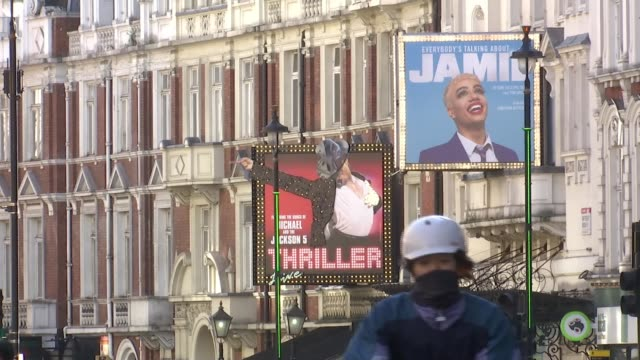 coronavirus / theatre: london west end theatres concerend about future after lockdown; england: int jasper bew 2 way interview via internet sot... - ウェストエンド点の映像素材/bロール