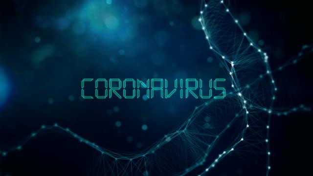 coronavirus title animation - disease vector stock videos & royalty-free footage