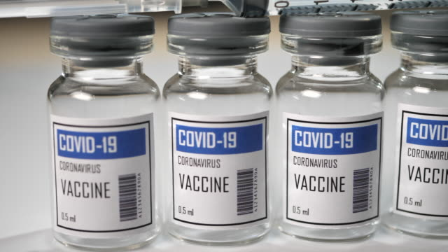 covid-19 coronavirus vaccine, no people - glass material stock videos & royalty-free footage