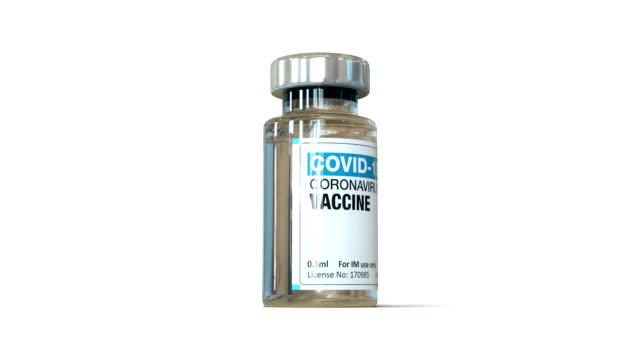 covid-19 coronavirus vaccine vial - syringe stock videos & royalty-free footage