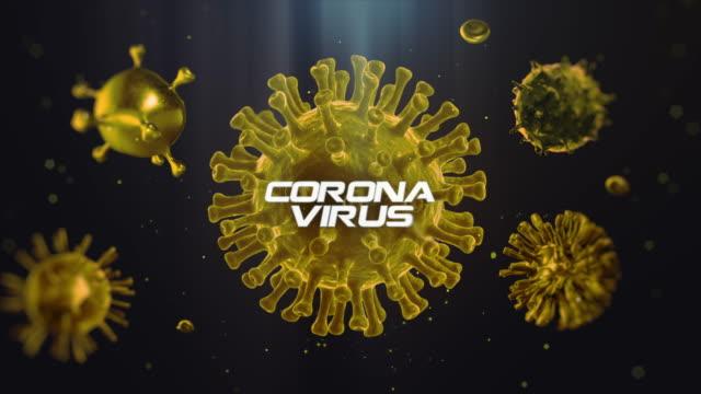 4k coronavirus - citochinesi video stock e b–roll