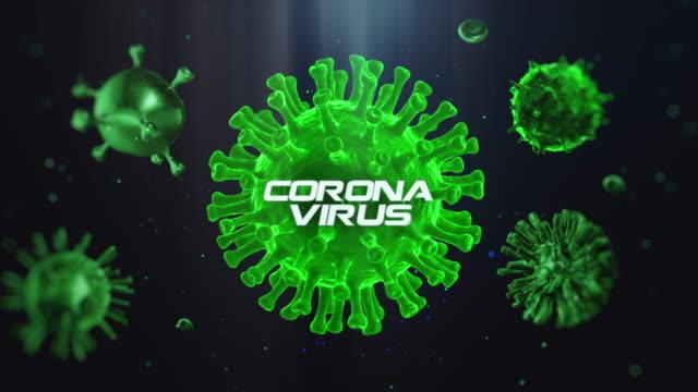 coronavirus 4k - citochinesi video stock e b–roll