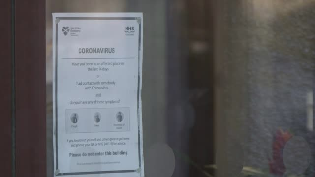 whistleblower claims covid19 left off death certificates scotland ext poster with retro image of woman coughing nhs scotland coronavirus advisory... - retro poster stock videos & royalty-free footage