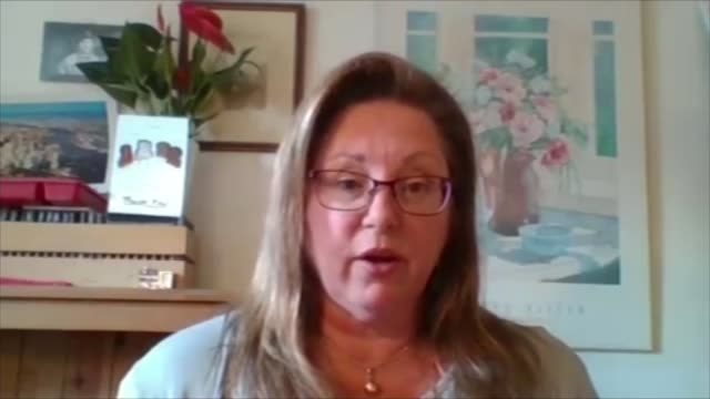 whistleblowers allege employers are abusing furlough scheme england int georgina halfordhall set up shots with reporter / interview via internet sot - business person stock videos & royalty-free footage