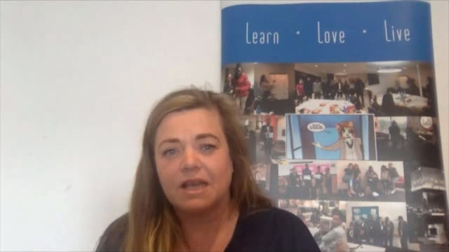 youth organisations trying to make sure teenagers supported during lockdown england london int lisa stepanovic interview via internet sot - teenager stock videos & royalty-free footage