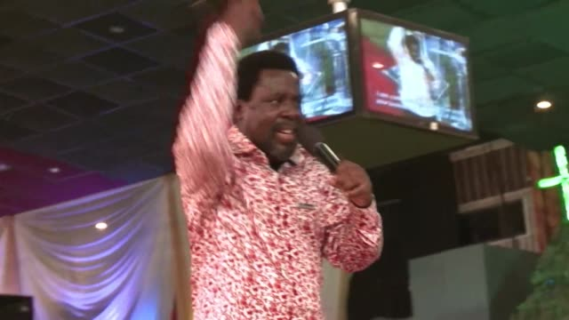 a coroner on wednesday said a megachurch run by popular nigerian preacher tb joshua should be prosecuted after a building collapse killed 116 people... - preacher stock videos and b-roll footage