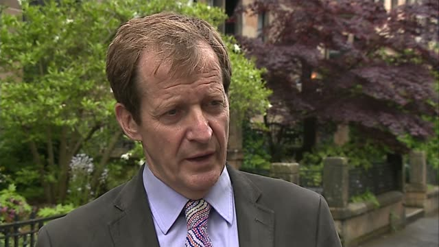 Coroner rules Charles Kennedy died from 'major haemorrhage' Unidentified Location EXT Alastair Campbell along street and interview SOT Charles's...