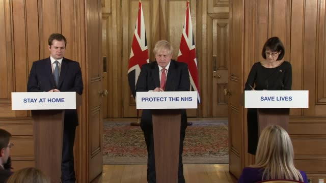 downing street press conference march 22nd; england: london: westminster: downing street: int downing street press conference part 7 of 11 boris... - curve stock videos & royalty-free footage