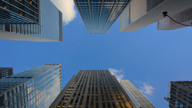 corporate building - directly below stock videos & royalty-free footage