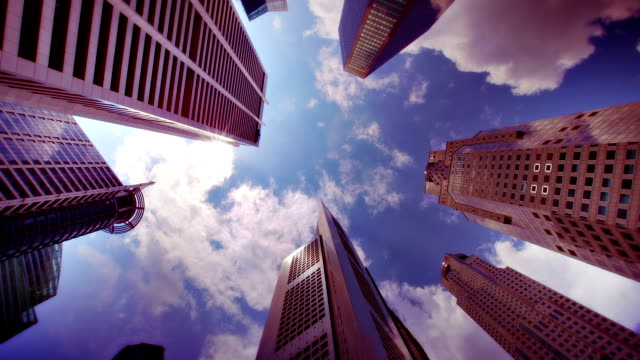 stockvideo's en b-roll-footage met corporate buildings. - innovatie
