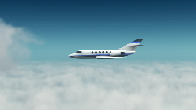 corporate jet - corporate jet stock videos & royalty-free footage