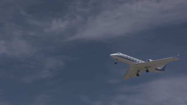 corporate jet - private airplane stock videos and b-roll footage
