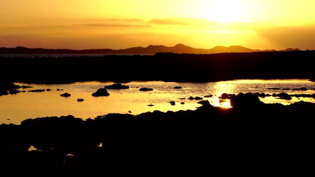 Corralejo beach sunrise, Lobo's Island - Fuerteventura