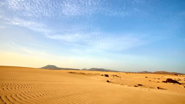 corralejo sand dunes - fuerteventura - deserto video stock e b–roll