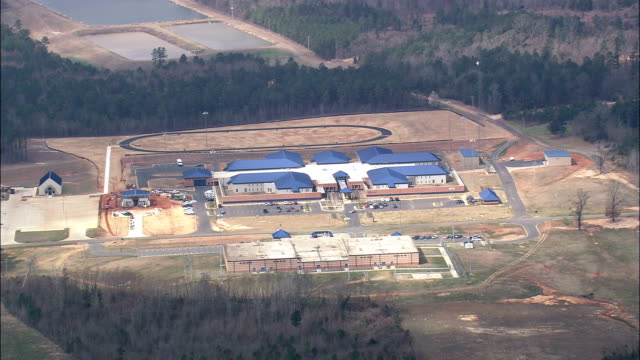 correctional facility near Monroe - Aerial View - Mississippi,  Warren County,  United States