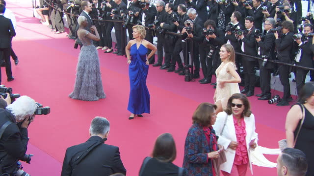 Corrine Touzet at 'The Traitor ' Red Carpet Arrivals The 72nd Cannes Film Festival on May 23 2019 in Cannes France