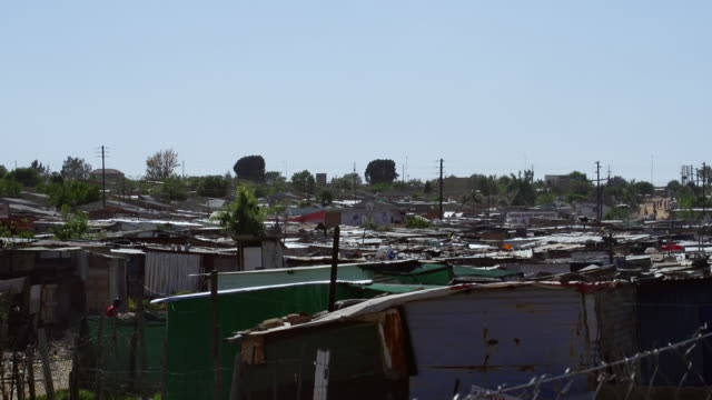 WS Corrugated iron shacks in town/ Diepsloot, South Africa