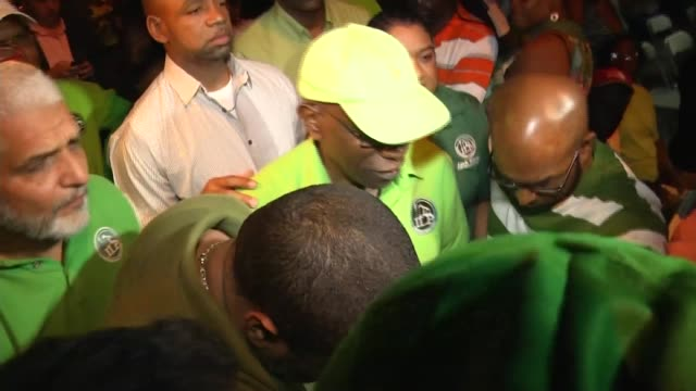 Jack Warner's alleged file of bribe payments TRINIDAD TOBAGO Jack Warner along through crowd at political rally