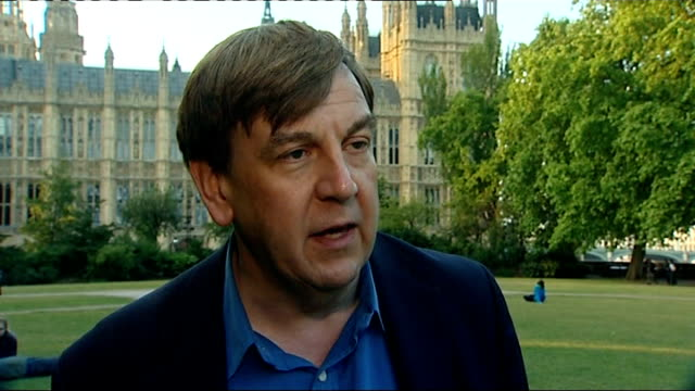 mohammed bin hammam and jack warner to be investigated england london westminster ext john whittingdale mp interview sot - fifa stock videos and b-roll footage