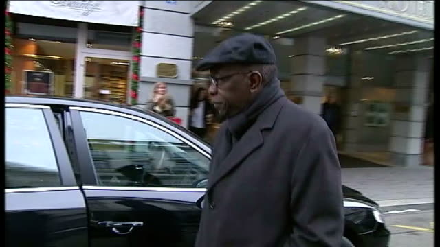 mohammed bin hammam and jack warner to be investigated t03121041 switzerland zurich jack warner along to car outside hotel - fifa stock videos and b-roll footage