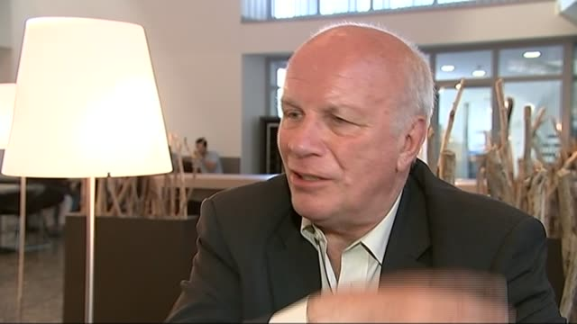 sepp blatter reelected as fifa president greg dyke interview sot we wouldn't do anything on our own no point in gesture politics and then you lose no... - greg dyke stock videos and b-roll footage
