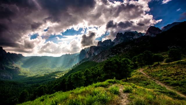 Korsika-Gebirge